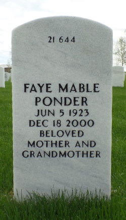 Faye Mable <i>Halsted</i> Ponder