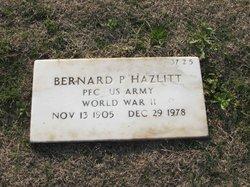Bernard P Hazlitt