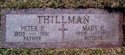 Peter P. Thillman