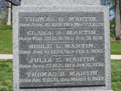 Clara A Martin