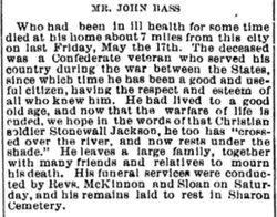 John Joseph Bass