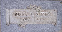 Bertha A. Sutter