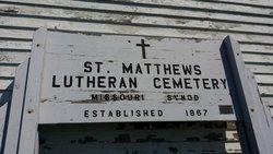 Saint Matthews German Lutheran Cemetery