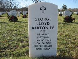 Capt George Lloyd Barton, IV