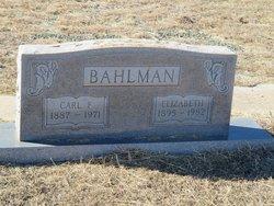 Carl Fred Bahlman
