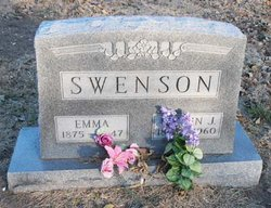 Emma S <i>Nelson</i> Swenson