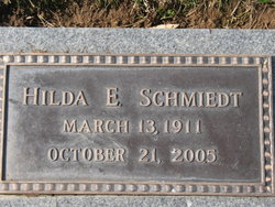 Hilda Emily <i>Gutzmer</i> Schmiedt