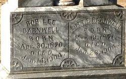 Bob Lee Barnwell