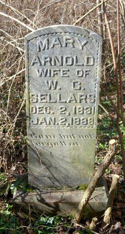 Mary M <i>Arnold</i> Sellars