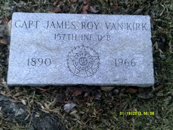 Capt James Roy Vankirk