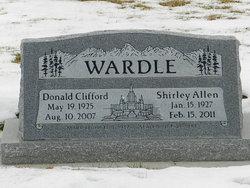 Shirley <i>Allen</i> Wardle