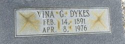 Melvina Elizabeth Viney <i>Giddens</i> Dykes