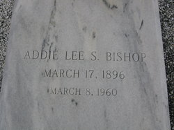 Addie Lee <i>Smith</i> Bishop