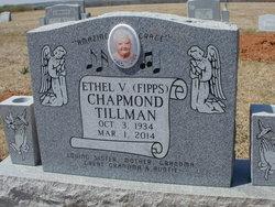 Ethel Verna <i>Fipps - Tillman - Chapmond -</i> Tillman