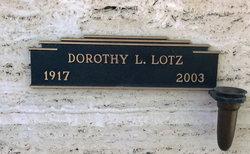 Dorothy Louise Lotz