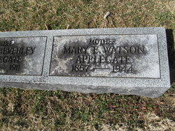 Mary <i>Watson</i> Applegate