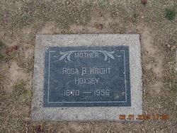 Rosa B. <i>Wright</i> Hoxsey