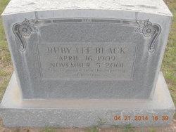 Ruby <i>Lee</i> Black Harris