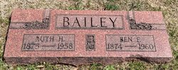 Ruth H <i>Burge</i> Bailey