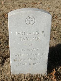 Donald P Taylor