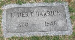 Elder Elmer Barrick