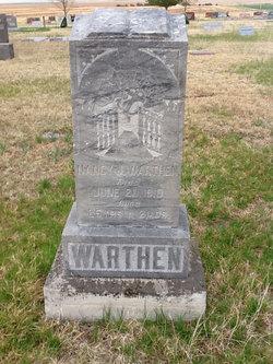 Nancy Jane <i>Dow</i> Warthen