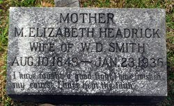 M. Elizabeth <i>Headrick</i> Smith