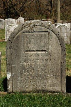 Christiana <i>Renshimer</i> Amey