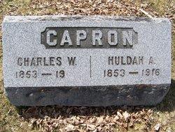 Huldah A <i>Perryman</i> Capron