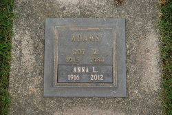 Anna Louise <i>Thomas</i> Adams