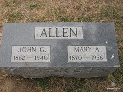 Mary Ann <i>Fleming</i> Allen