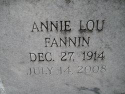 Annie Lou <i>Fannin</i> Crumbley