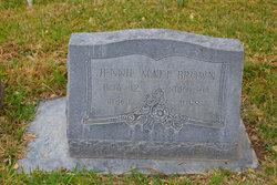 Jennie Matt Brown