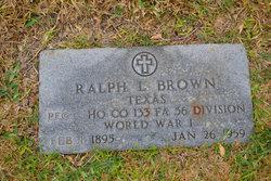 Ralph Lamar Brown, Sr