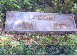 Rebecca Jane <i>French</i> Durham