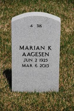 Marian <i>Knox</i> Aagesen
