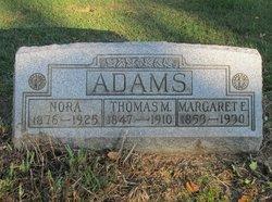 Margaret Elizabeth <i>McMillen</i> Adams