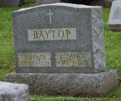 Esther V. <i>Robeson</i> Baytop