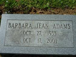 Barbara Jean Adams
