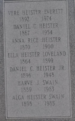 Anna <i>Rice</i> Heister