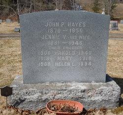 Jennie Virginia <i>Footer</i> Hayes