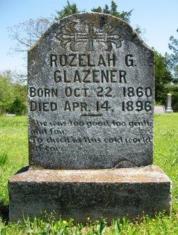 Rozelah Emily Gorder <i>Sloan</i> Glazener
