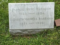 Elizabeth Cornelia <i>Van Ness</i> Barbarin