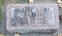 Myrtle <i>Cone</i> Baird
