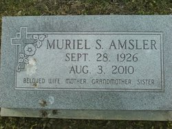Muriel <i>Stevenson</i> Amsler