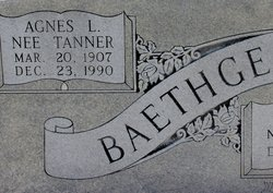 Agnes L <i>Tanner</i> Baethge