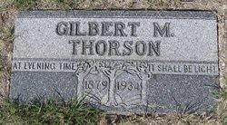 Gilbert M. Thorson