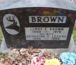Georgina E <i>Legere</i> Brown