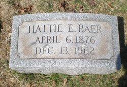 Hattie E. <i>Bickert</i> Baer