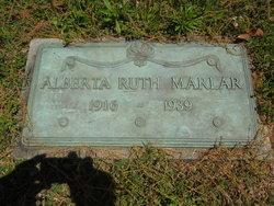 Alberta Ruth <i>Hooker</i> Marlar